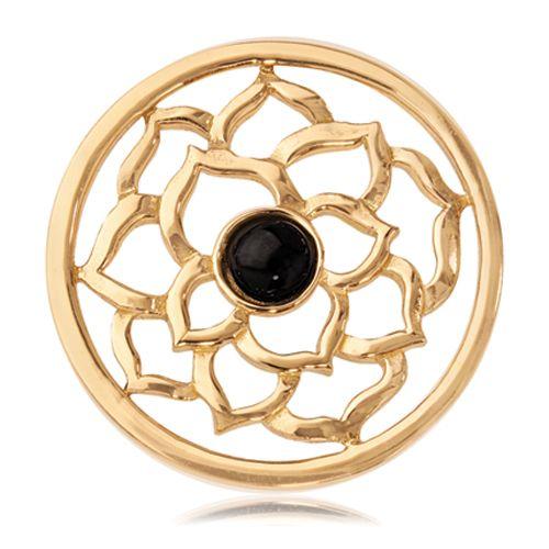 This Nikki Lissoni design showcases a Black Onyx center stone... #janesjewelers