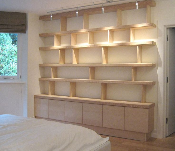 12 best built in desk shelves images on pinterest bookcases built in bookcase and built ins - Contemporary built in bookshelves ...