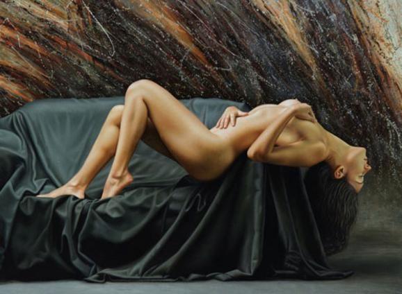 Γυμνή ζωγραφική που ξετινάζει τα όρια του ρεαλισμού  Ομάρ Ορτίζ (Omar Ortiz)
