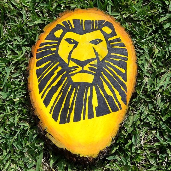 Lion King Broadway Painting