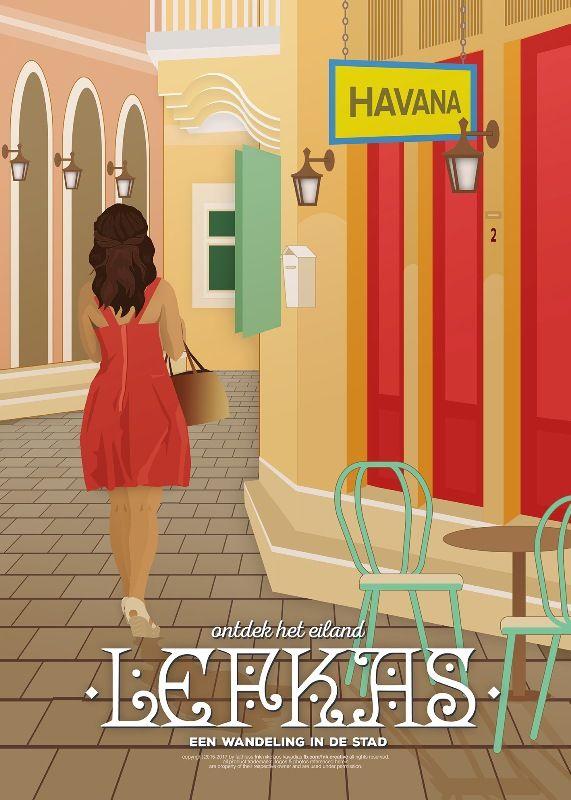"""Έκθεση """"Eικονογραφημένης Ταξιδιωτικής Αφίσας του Νικόλαου Καββαδία στη Λευκάδα - Go Lefkas   Ο απόλυτος οδηγός για την Λευκάδα"""