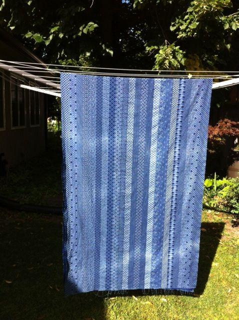 Waiting for Shweshwe to dry so I can start making pants!
