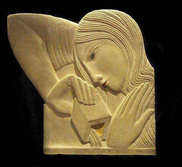 Eric Gill.  Ashmolean Museum Oxford.