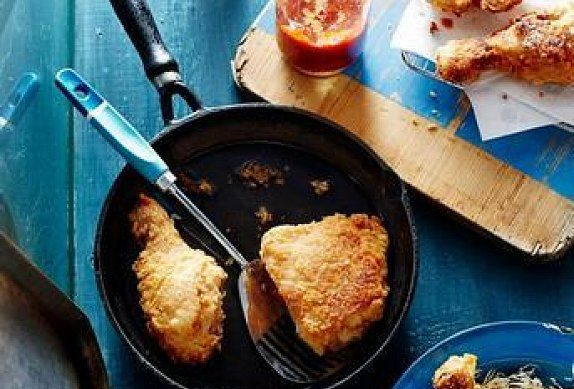 Smažené kuře po jižansku