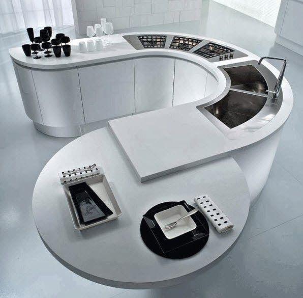 40 diseños de modernas islas de cocina, ideas con fotos   Construye Hogar