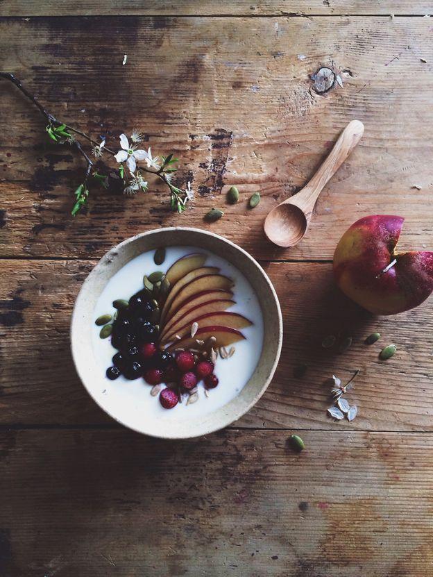 Yogurt with fruit. Photo: Linda Lomelino