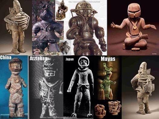 Are these Ancient Astronauts ?