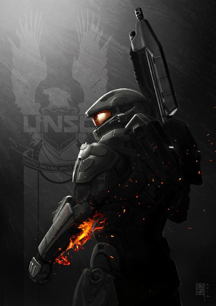 HALO 4 x Battlefield by MarcWasHere.deviantart.com on @deviantART