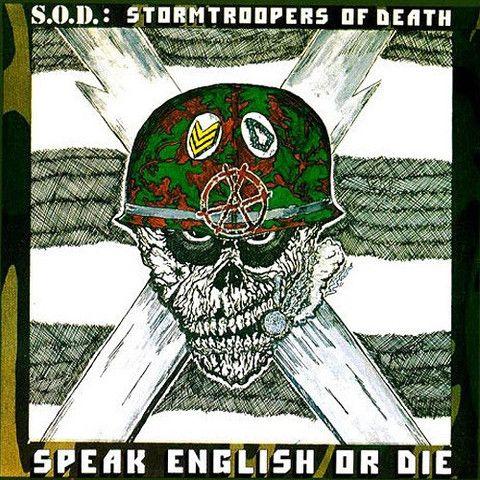 SOD Speak English Or Die – Knick Knack Records