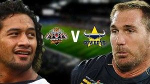 West Tigers vs North Queensland Cowboys Live