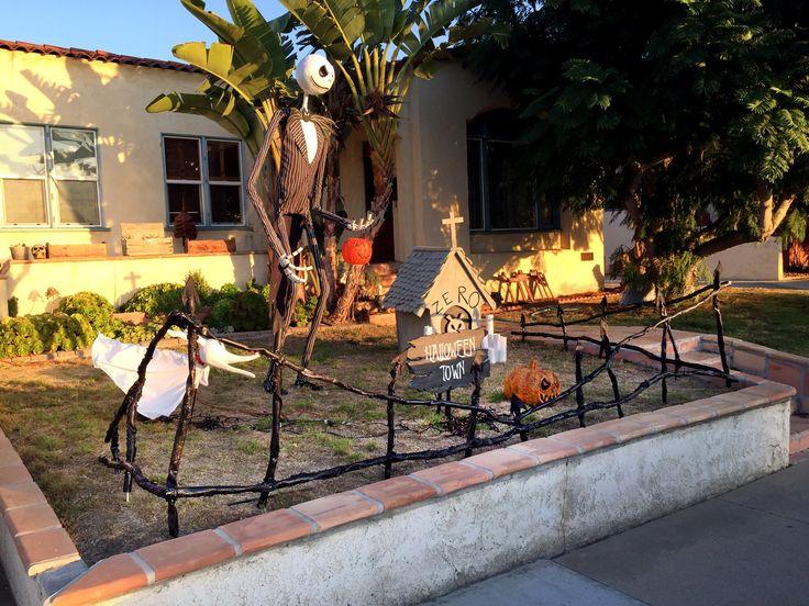 DIY Halloween Fence.  Reminder, Habitat for Humanity for PVC supplies.   http://www.habitat.org/restores/