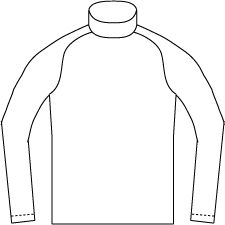 Men's Turtle neck pattern and Technical Drawing