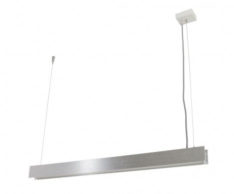LEDlux Saba 600mm Dimmable LED pendant in Aluminium | Modern Pendants | Pendant Lights | Lighting $227