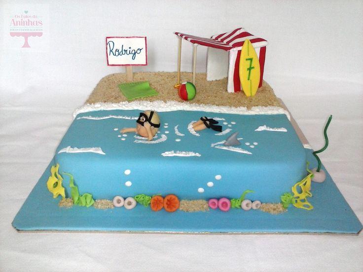 O Rodrigo festejou o seu aniversário, num ambiente de verão. O design da mesa ficou mais uma vez a cargo da C2chique , e o bolinho foi i...