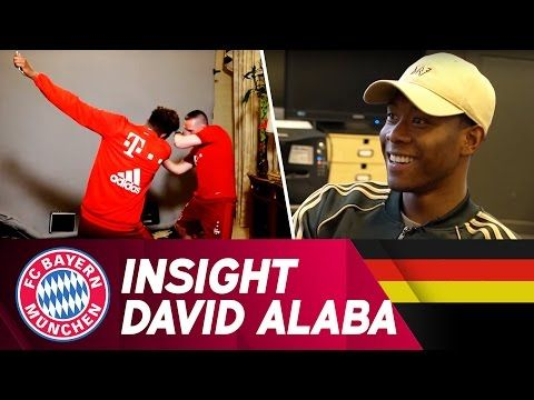 Insight David Alaba - 9 Jahre FC Bayern | FC Bayern.tv live - YouTube