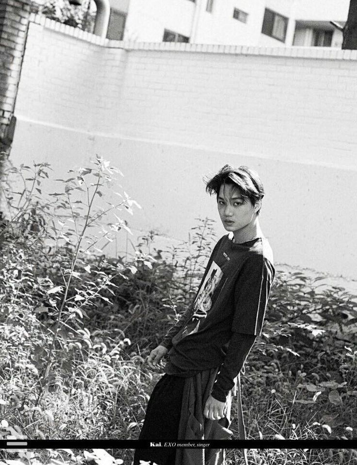 Kai para a Revista L'Uomo Vogue - EXO ☆ *:… o (≧ ▽ ≦) o…: * ☆