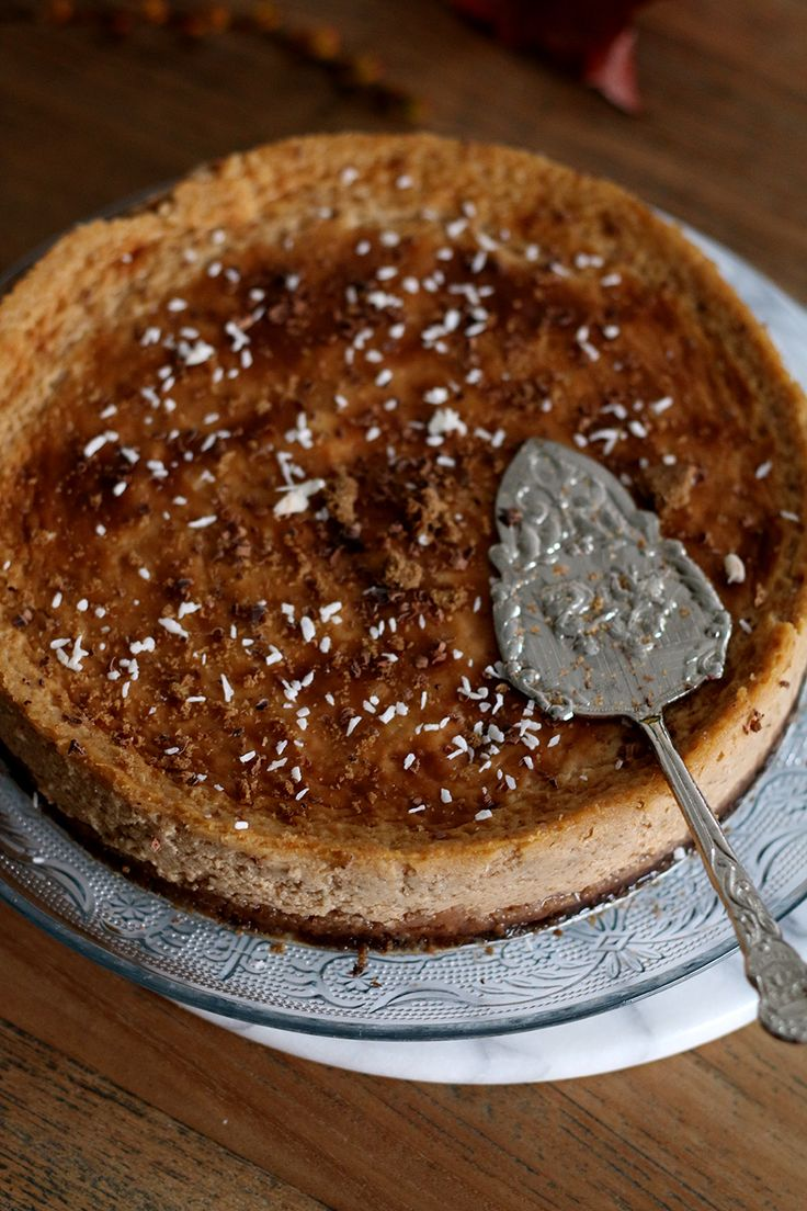 Zin om de keuken in te duiken en een taart te bakken? Probeer deze pompoen cheesecake dan eens! Een lekkere variant op de gewone cheesecake.