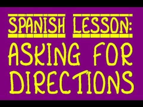 1000 images about spanish directions prepositions cities on pinterest videos teaching. Black Bedroom Furniture Sets. Home Design Ideas