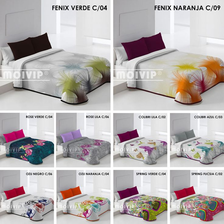 Colchas Bouti Baratas Colcha para cama cubrecamas cubiertas MADE IN SPAIN ★