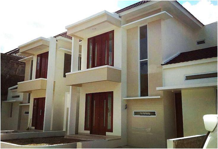 Desain Rumah Minimalis 2 Lantai Modern Type 45