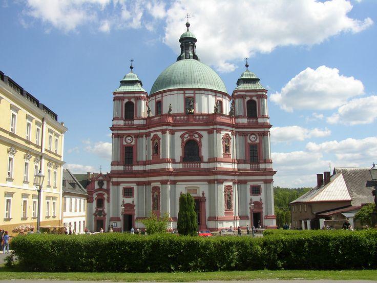 jablonné v podještědí/ kostel sv vavřince / Hildebrandt