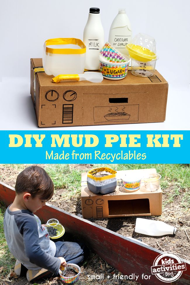 Such an easy and fun idea! Make a mud pie kit - what a fun gift to give too!
