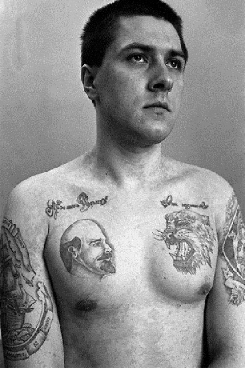 Top 15 des tatouages de prisonniers russes décodés, le message derrière l'encrage