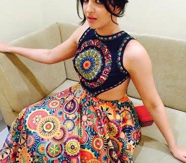 Deeksha Seth in Neha Agarwal Dress