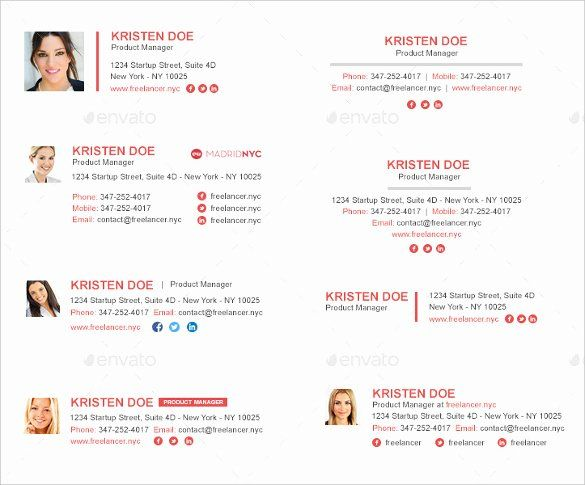 Html Email Signature Template Awesome 20 Gmail Signature Templates Free Download Email Signature Templates Html Email Signature Email Signatures