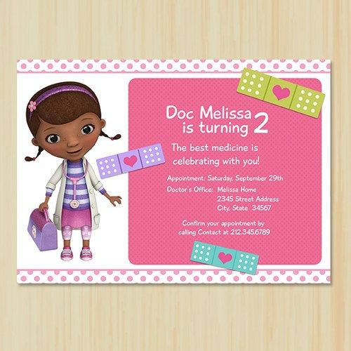 289 Best Doc Mcstuffins Birthday Party Images On Pinterest