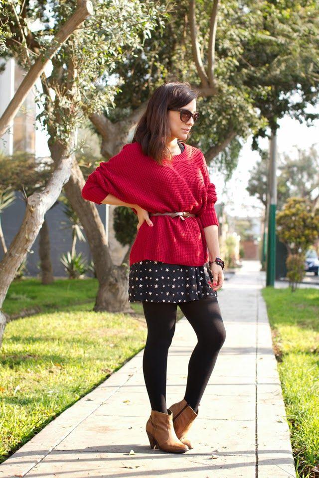 el diario de Pink Chick: Cómo me pongo: botines marrones