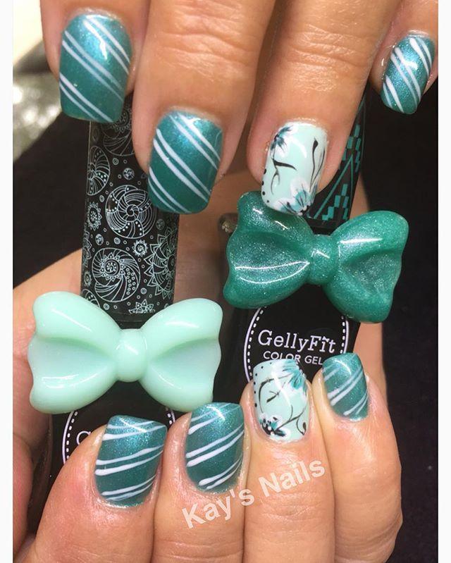 #kaysnailsandbeauty #goldcoastnails #sculptured #acrylic #nails #gellyfitaustralia #gelpolish #handpainted #designs#nailart #nailaddict #nailtech #nailstylist #nailartist #nailartpromote #naillove #nailfashion #noftd#nailbeauty