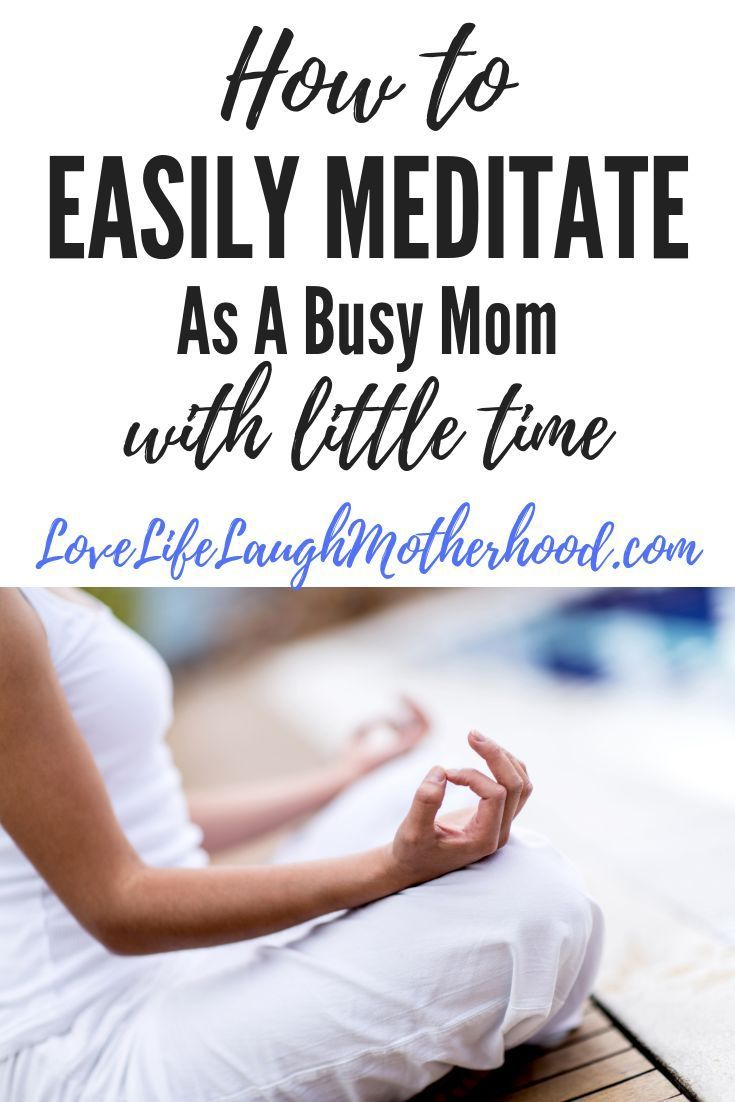 Little for a time meditation photo