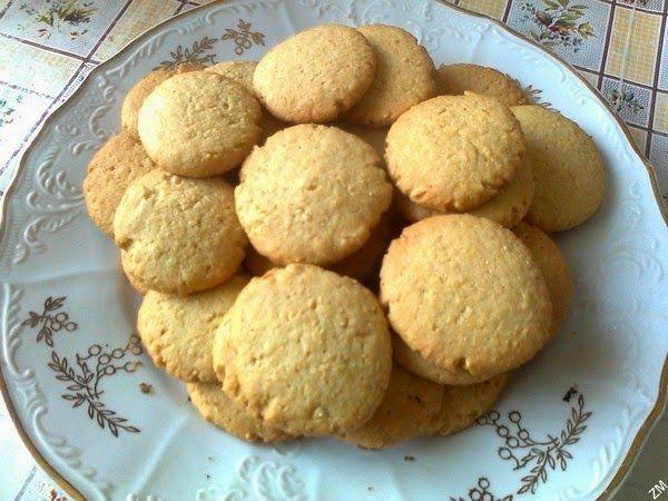 Arašídové sušenky podle knihy Rendez-vous v Paříži (orig. That Part Was True), kterou napsala Deborah McKinlay.