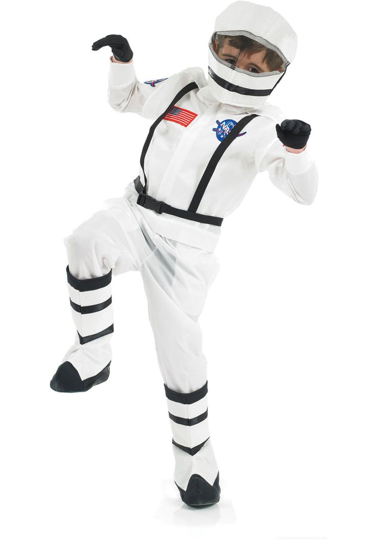 Kids Spaceboy Astronaut Costume - Children Occupational Costumes at Escapade
