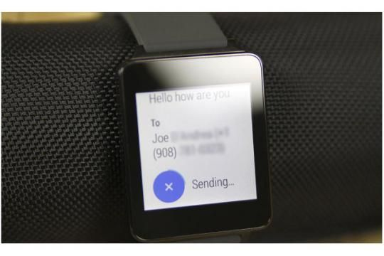 How To Use Messages - LG G Watch. #LG #gwatch