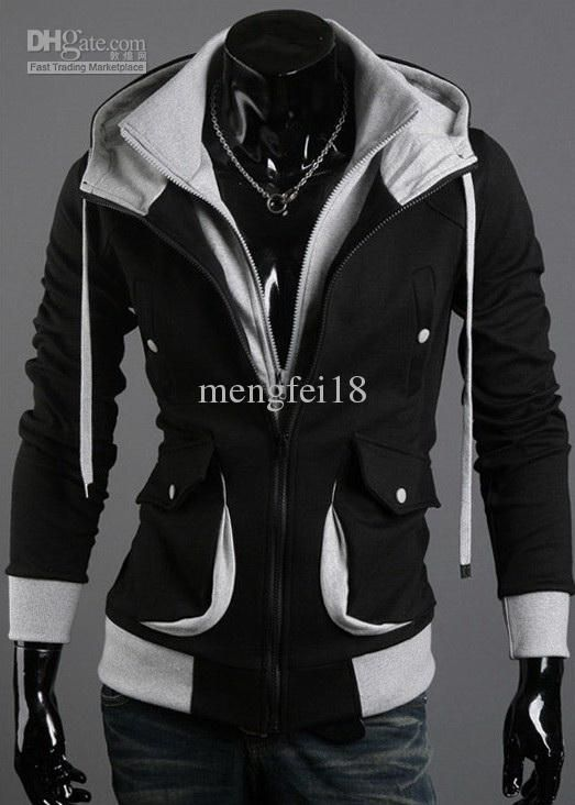 Assassin's Creed Desmond Style Velour Hoodie. WHY CAN'T THIS BE IN WOMEN'S SIZES