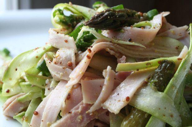 Salade de jambon et d'asperges | Métro