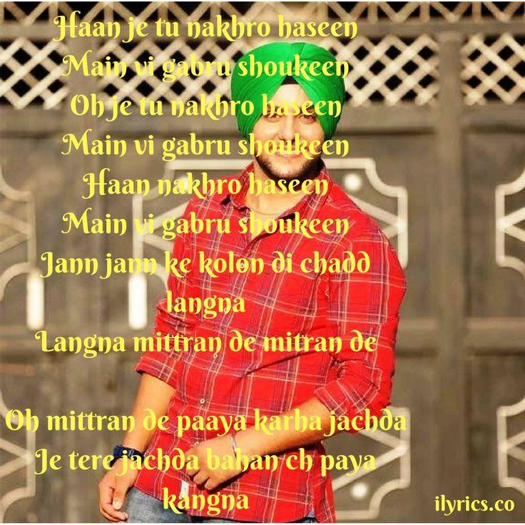 Karha Vs Kangna Lyrics By Mehtab Virk -