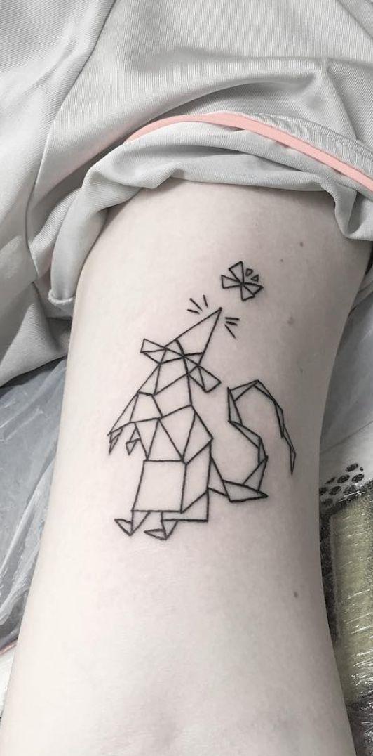 Chinese Zodiac rat tattoos