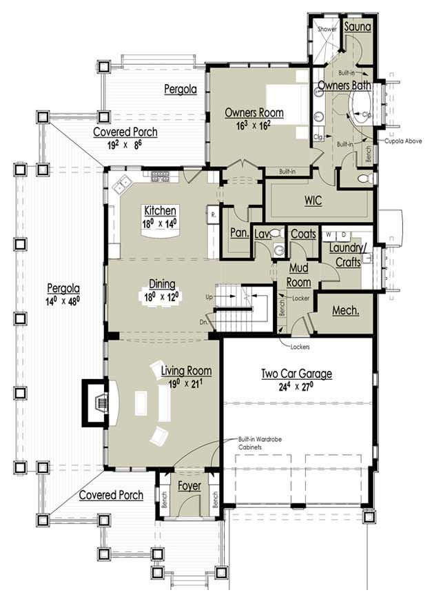 77 best house plans 2 story images on pinterest for Award winning one story house plans