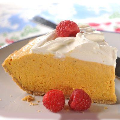 Easy Pumpkin Cream Pie