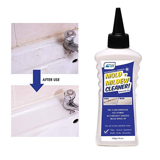 Skylarlife Home Mold Mildew Remover Gel Stain Remover Cleaner