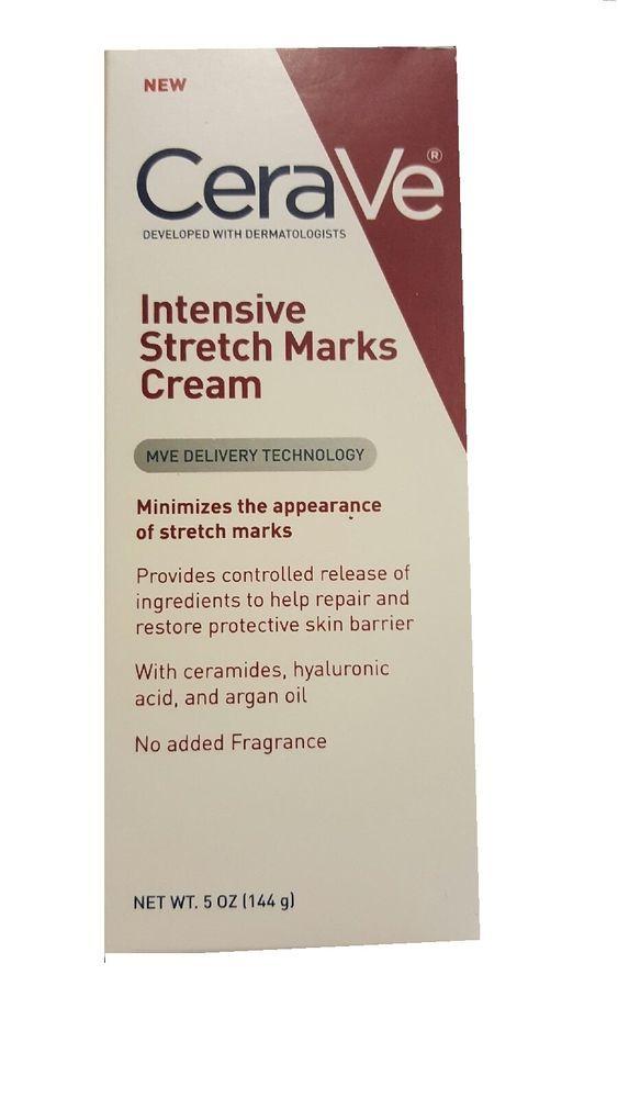Stretch Mark Removal Cream Pregnancy Scar Intensive Skin Treatment Belly Body  #Cerave