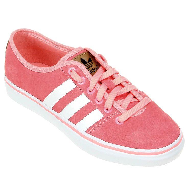 Tênis Adidas Adria Low Rosa Claro   Netshoes