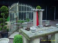 heidesandstein.de - historische Zäune, antik , historischer Gartenzaun, historische schmiedezäune, historische schmiedee