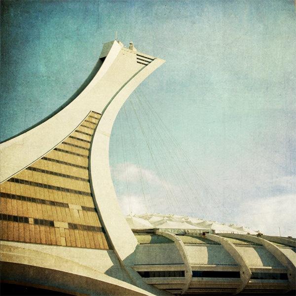 Olympic Stadium, photos by Jane Heller