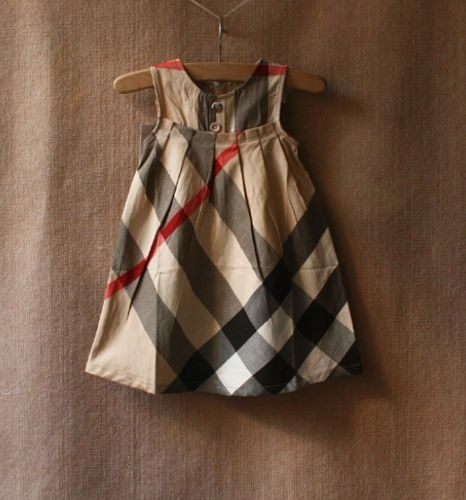 FREE SHIPPING Burberry Plaid Girls Dress, 3 colors, sizes: 2T-15 years | EmeseBoutique - Children's on ArtFire