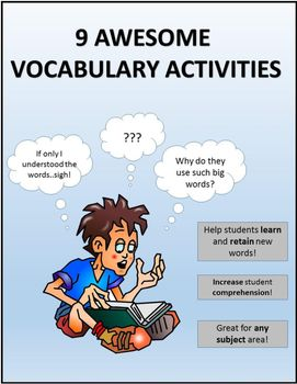 Fun Ways to Learn New Vocabulary Words   The Classroom