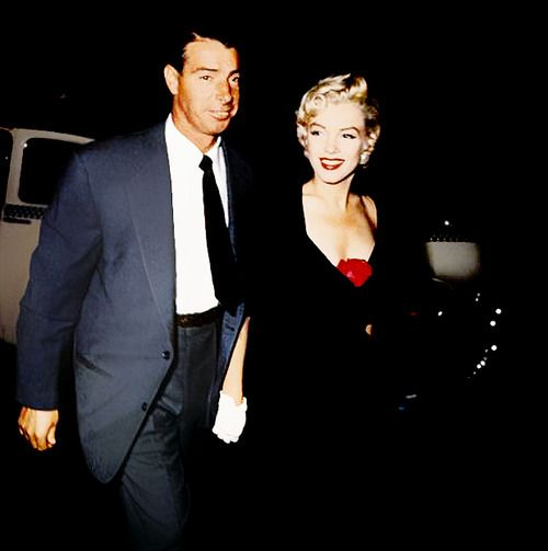 Summer of 52  Marilyn Monroe with husband at the time Joe DiMaggio